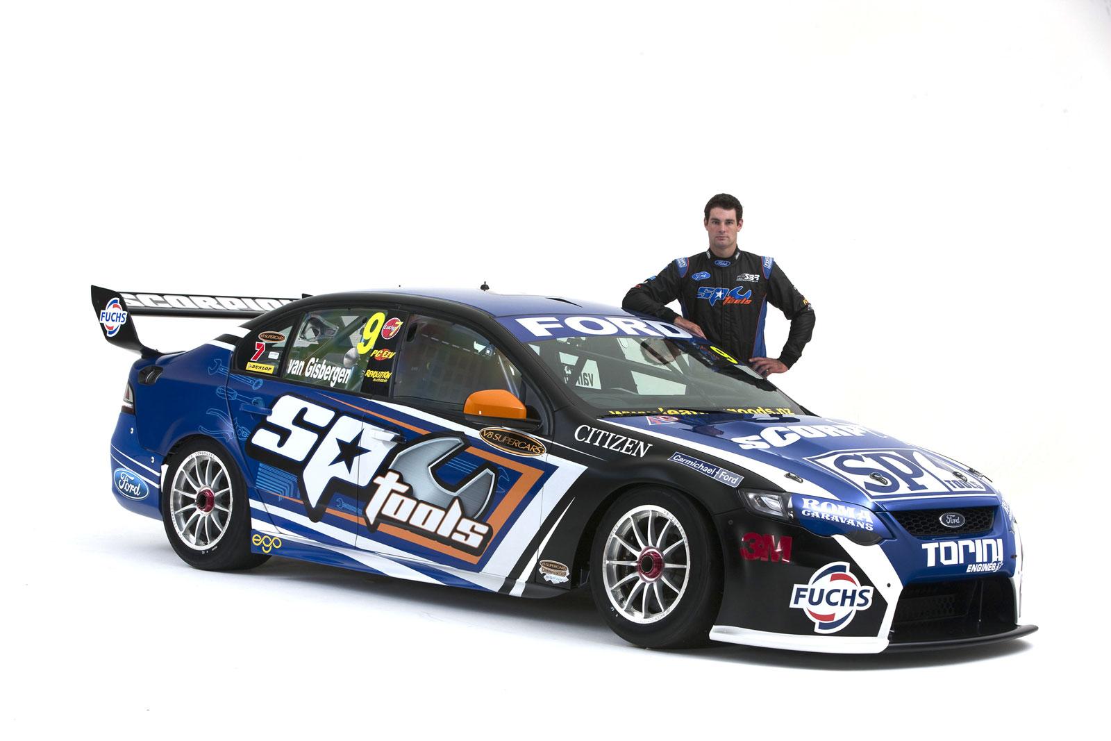 SP Tools Race Car