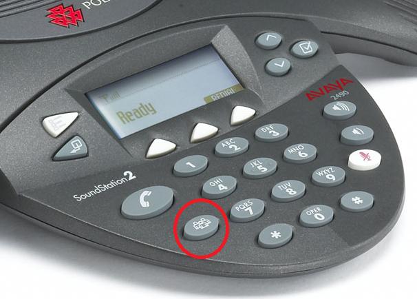 Polycom Conference Button Hilite